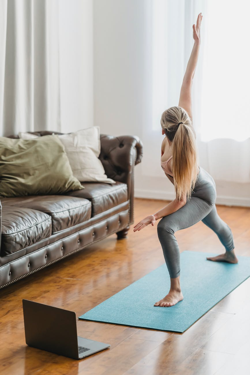 beginners yoga at home